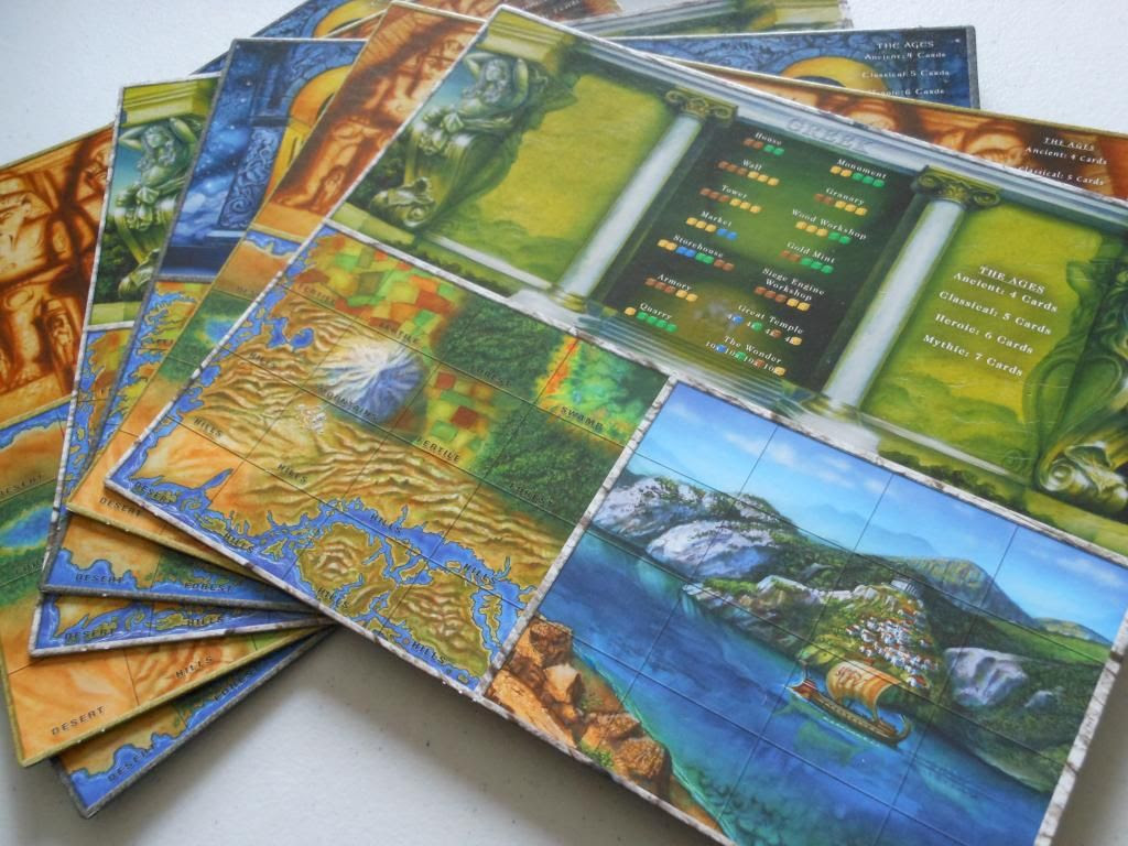 Age of Mythology player boards
