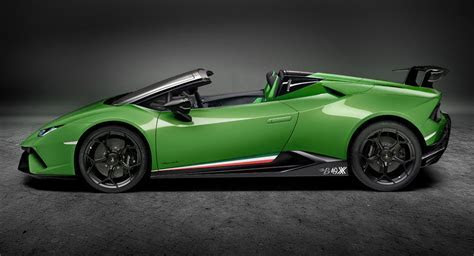 Lamborghini Huracan Performante Spyder Looks Delicious In First Renders