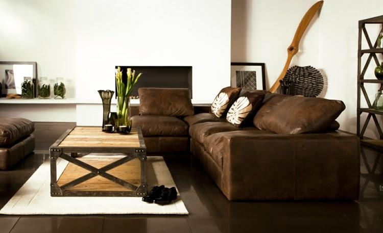 deko ideen wohnzimmer ideen mit brauner couch für ein