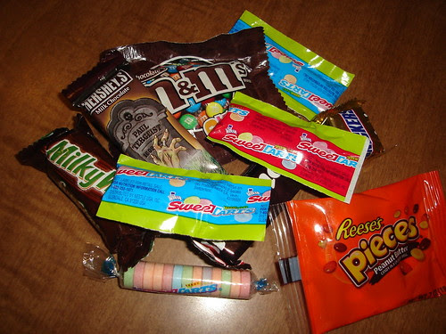 My candy stash