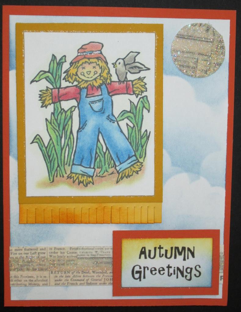Inky Antics 2302H Scarecrow