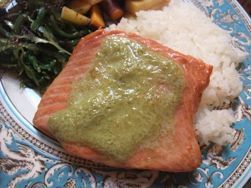 Wasabi Mayo Salmon