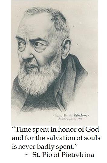 St. Padre Pio Pietrelcina Prayer