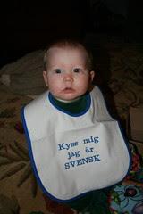 Kiss me I'm Swedish