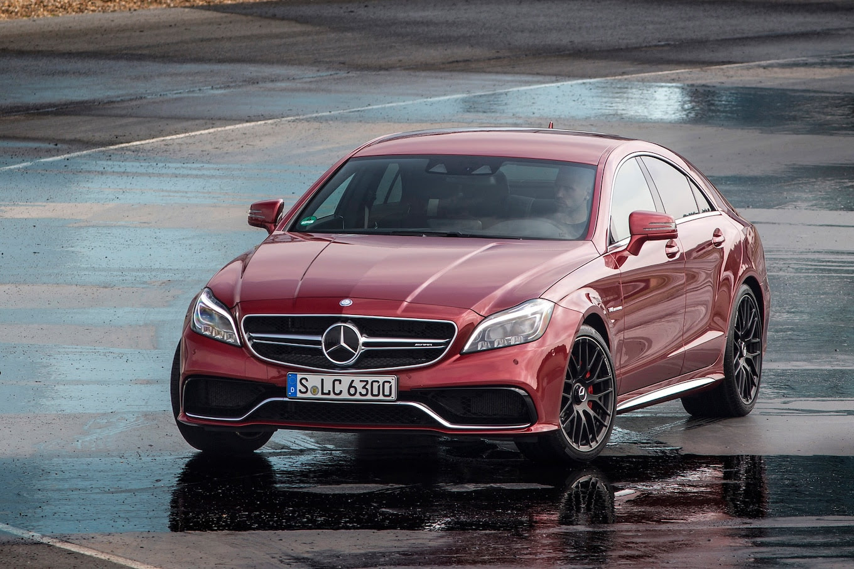 2015 Mercedes-Benz CLS63 AMG Receives Updates - Motor ...