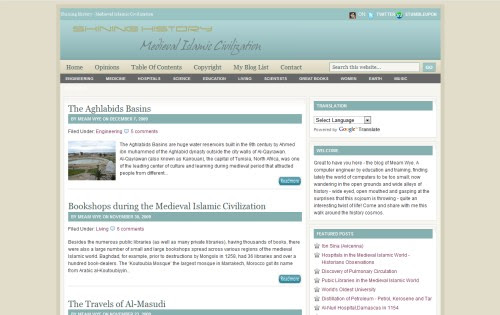 Shining History - Medieval Islamic Civilization