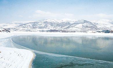 A lake in Kukes, Albania