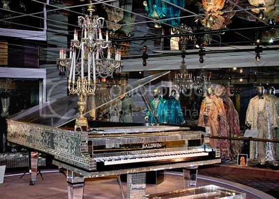 Liberace's piano