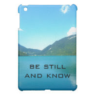 Be Still and Know Verse Cover For The iPad Mini