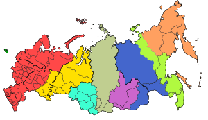 Time zones of Russia: