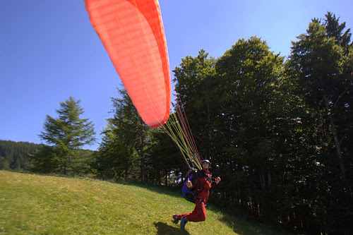 Eric on take off
