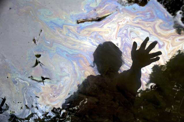 Image from Joe Berlinger's film, Crude