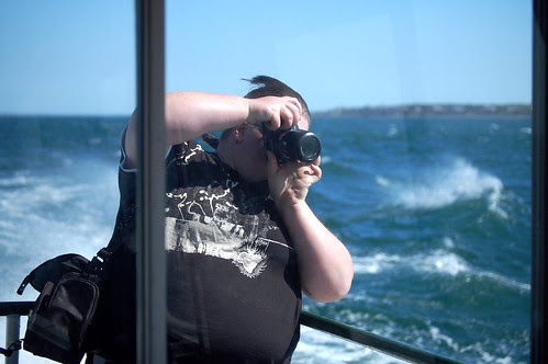 Jess, shooting waves