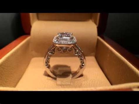 3 Carat Emerald Cut Vintage Engagement Ring   YouTube