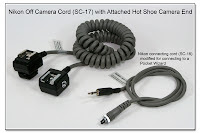 OC1034: Nikon SC-17 with Hot Shoe and Modded Sync Cable