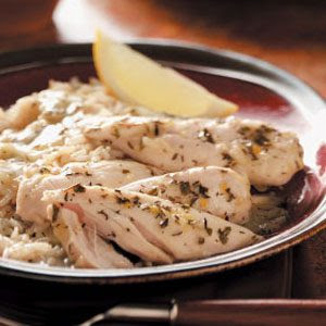 Lemon Chicken with Gravy