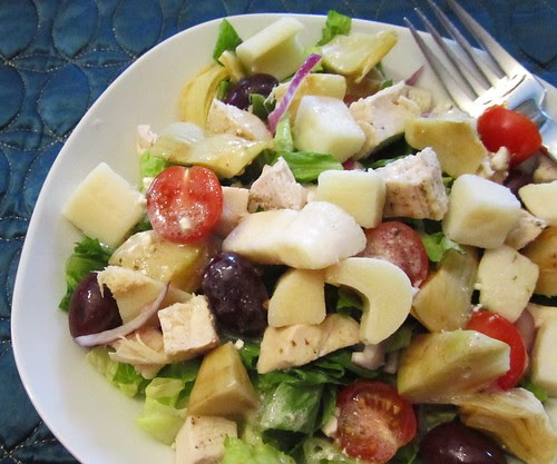 Greek Salad w/ Hearts of Palm