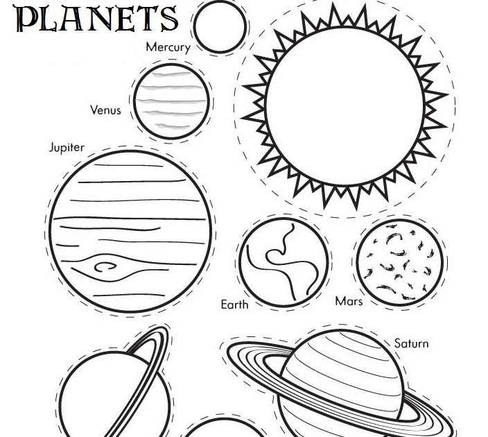 solar system coloring pages - 845×768