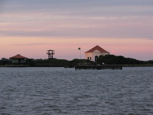 reserve museum sunset