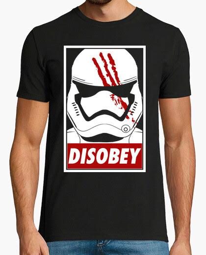 Camiseta Stormtrooper Disobey