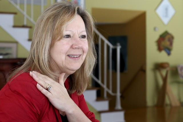 Catherine Bélanger est toujours ébranlée par le départ... (Patrick Woodbury, Le Droit)