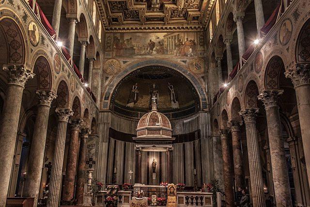 Roma Santa Ines Extramuros Interior