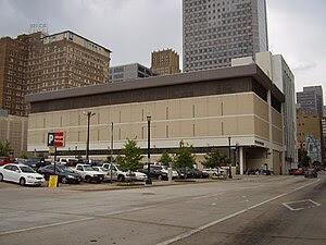 Houston Chronicle headquarters Español: La sed...