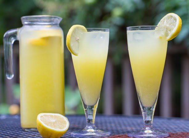 Homemade Mango Lemonade | Overtime Cook