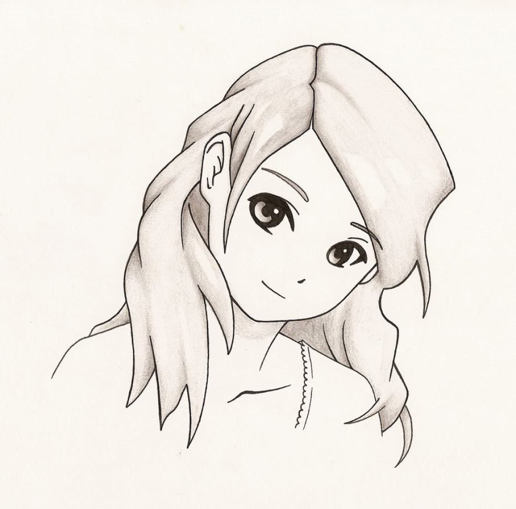 Girl Step By Step Drawing at GetDrawings   Free download
