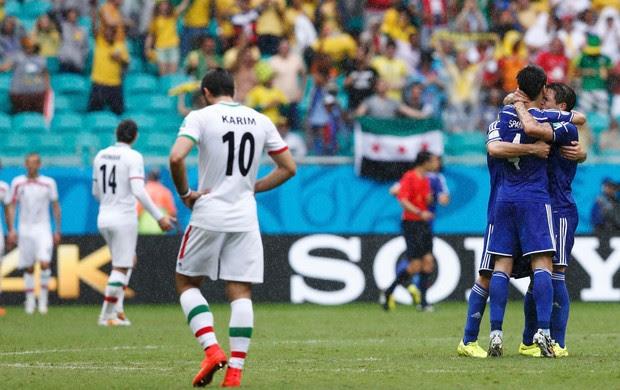 Vrsajevic gol bósnia x irã (Foto: Reuters)