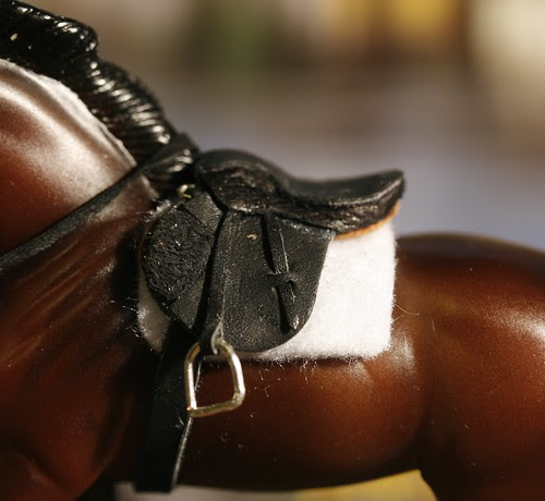 Stablemate Scale Saddle
