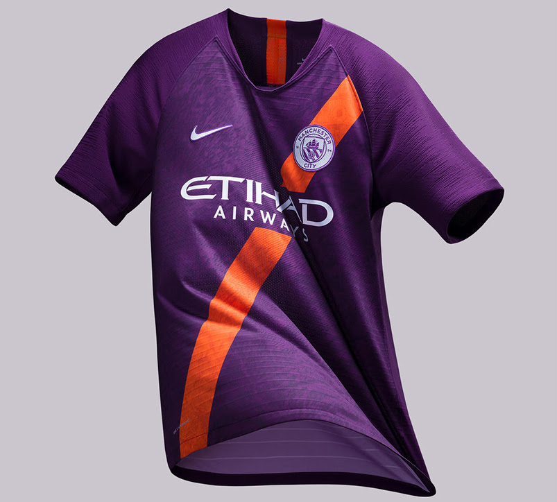 Manchester City 2018/19 Third Jersey Launched - Soccer365