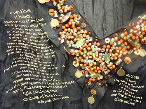 A Neckline of Beads