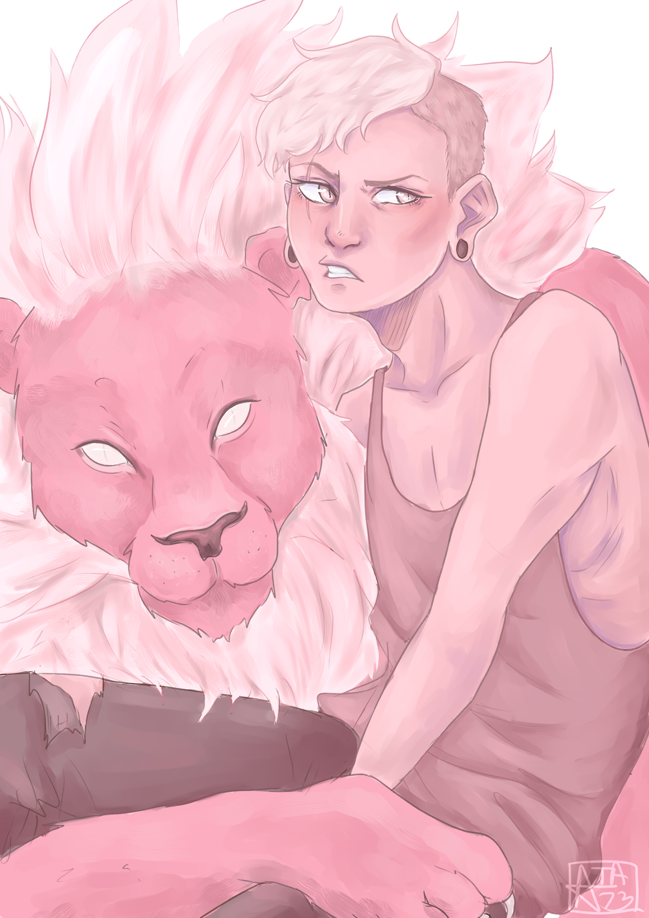 Yo I cant believe Lars fuckin died Quick doodle - I couldn't decide if I wanted glowy eyes or not so y'all get both