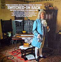 Switched On Bach (Columbia LP cover)