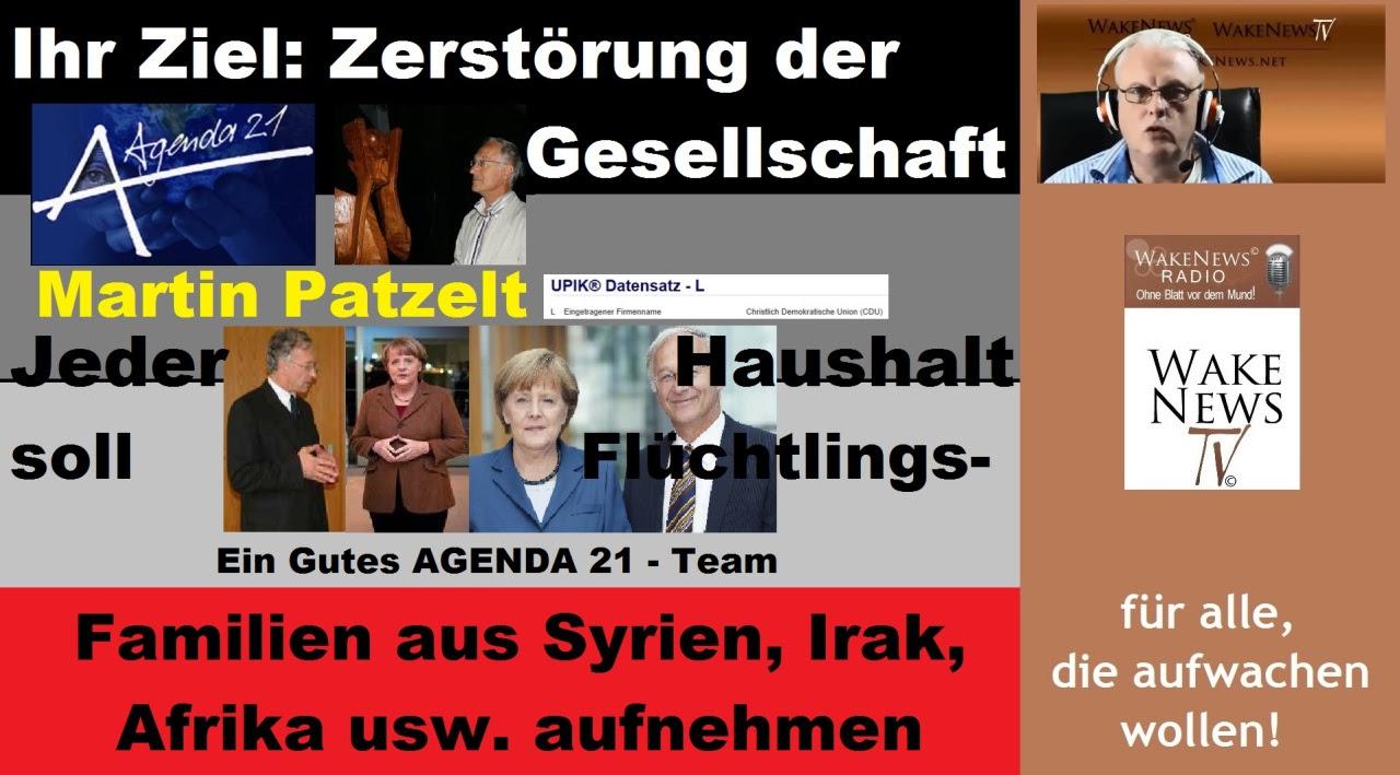 Zerstörung der Gesellschaft - Martin Patzelt, Firma CDU