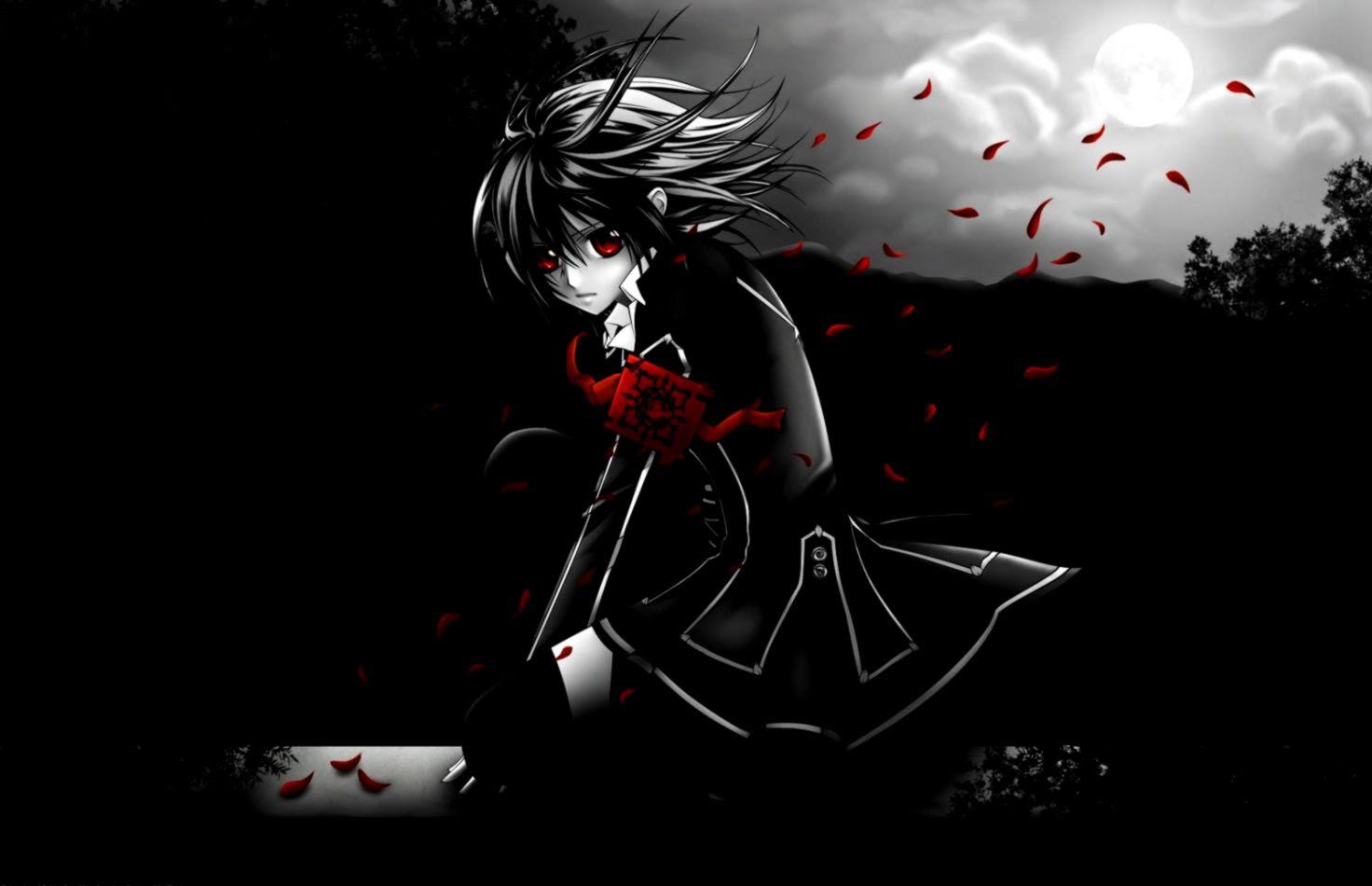 Download sad emo girl wallpaper anime emo alone night wallpaper all