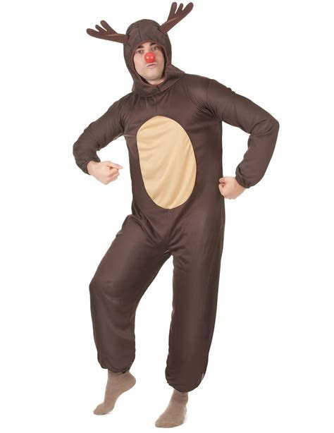 Christmas reindeer costume for men.: Adults Costumes,and