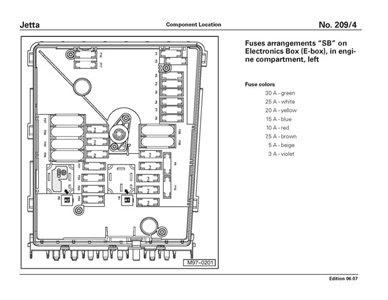 29 2006 Vw Jetta Fuse Box Diagram - Wire Diagram Source ...