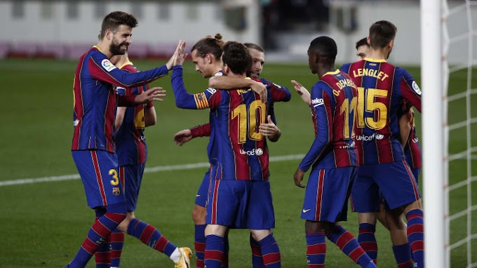 EPL:  Barcelona 5 - 2 Real Betis  Goals and Extended Highlights 7/11/2020