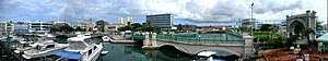 English: Panarama of downtown Bridgetown, Barbados