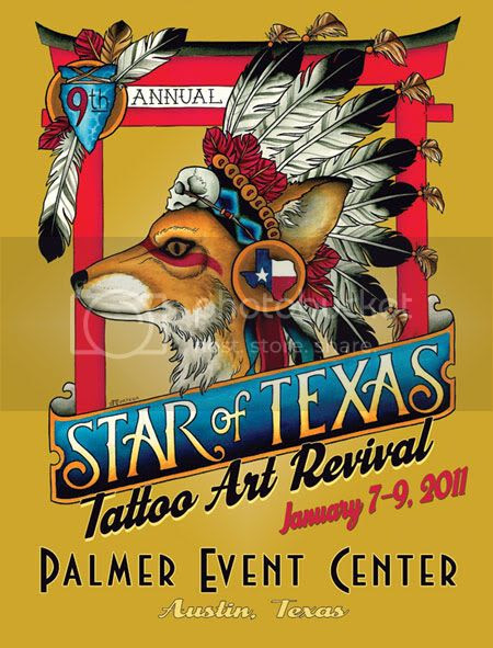Every January our good friend Marcy puts on a tattoo convention/ tattoo art