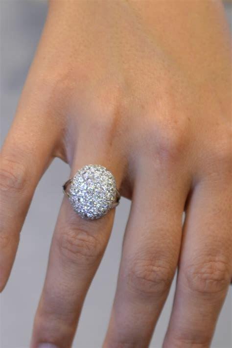 Swarovski ring, engagement ring, silver ring, Swarovski CZ