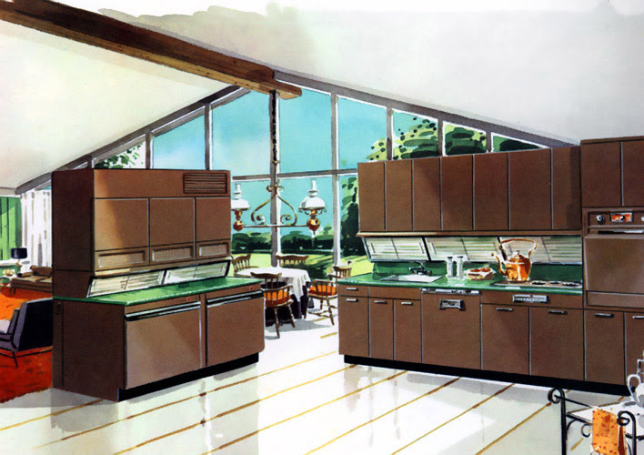 A Look at 1950′s Interior Design Art Nectar - 1950's Portland House Remodel By Jessica Helgerson.