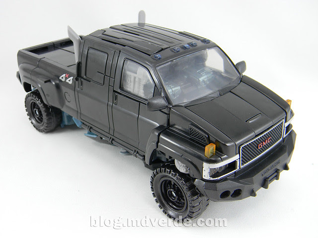 Transformers Ironhide Leader - Dark of the Moon - modo alterno