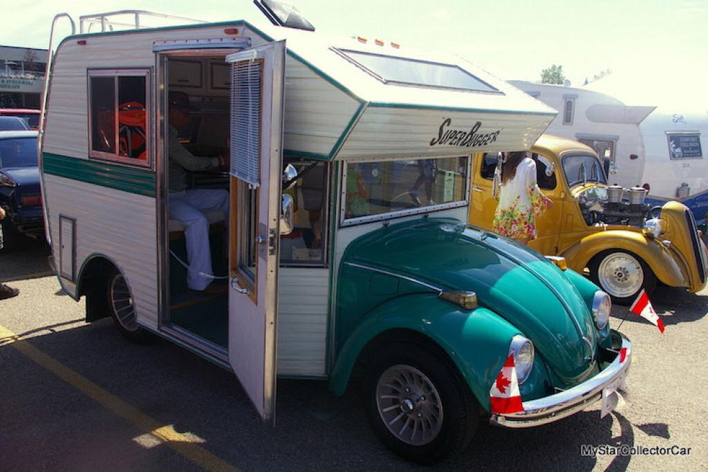 """Fuscas dos anos 1970 convertidos em trailers chamados """"fuscampistas"""" 02"""