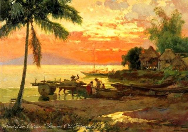 Fernando Amorsolo Seascape