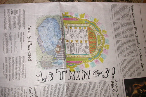 10 things i read in the newspaper