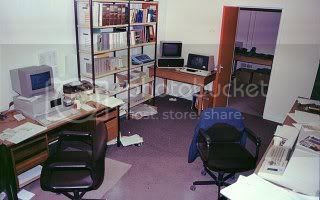 My first proper office