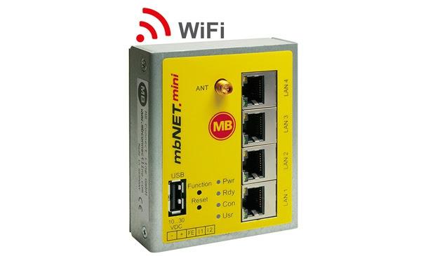 Conexión remota Wi-Fi para maquinaria